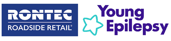 Rontec and Young Epilepsy logo