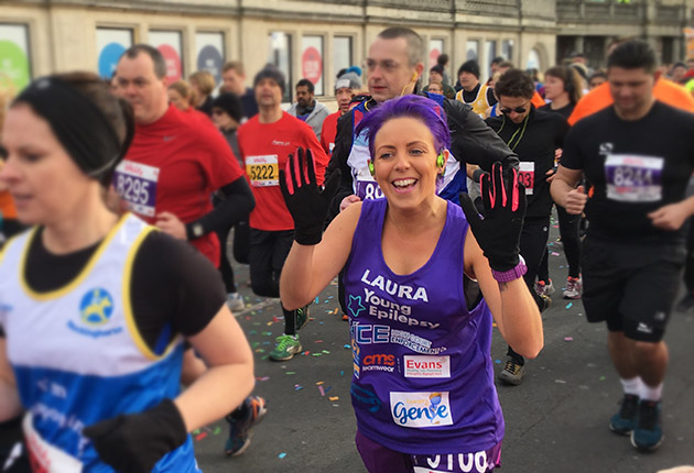 Join our team for the Vitality Brighton Half Marathon next February...