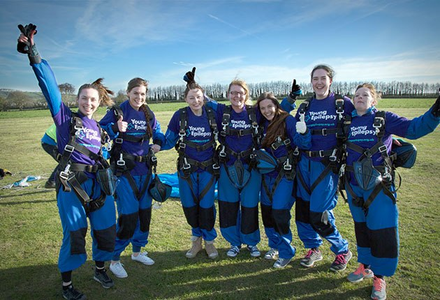 Purple Plunge Skydive
