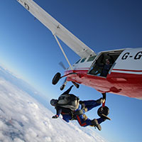 young Epilepsy skydive