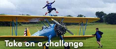 Fundraising sports challenges