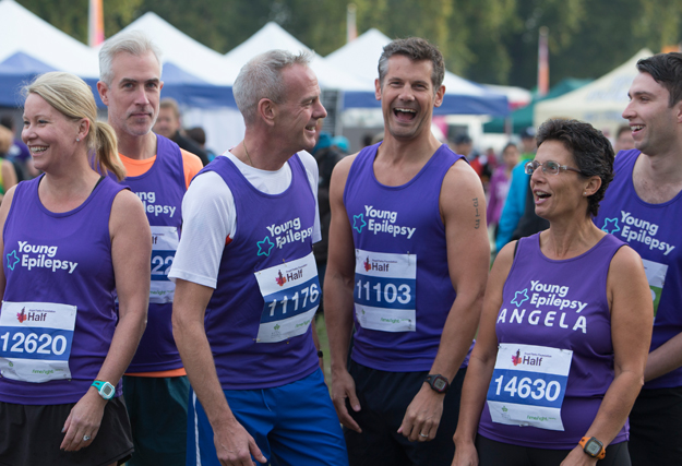 DJ Norman Cook, aka Fatboy Slim completed the Royal Parks Half Marathon...