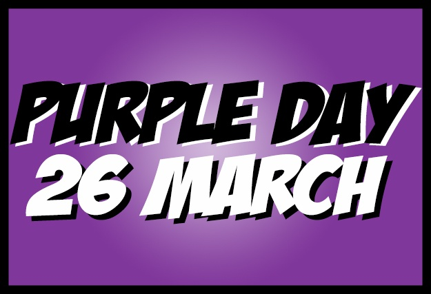 Purple Day 2019 | Fundraising ideas | For supporters