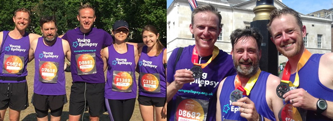 Young Epilepsy 10k runners