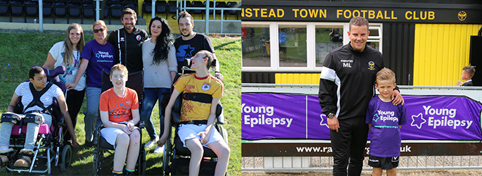 Young Epilepsy Football match