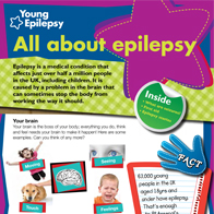 Epilepsy information for schools – Key Stage 2 magazine