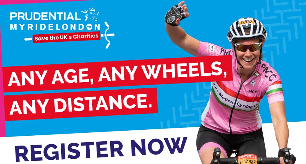 Any age, any wheels, any distance - Register Now!
