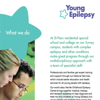 Recruitment Pack part 1: What we do; About epilepsy