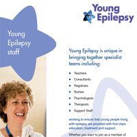 Recruitment Pack part 5: Young Epilepsy staff; Volunteers